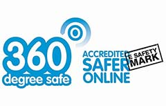 360 Degree Safe Safer Online Logo